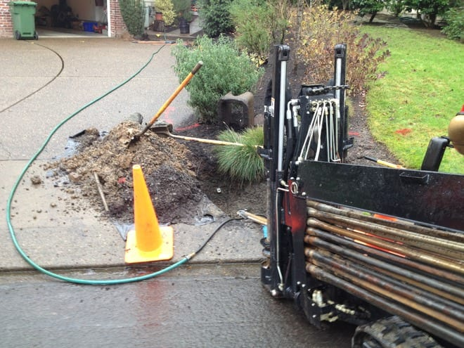 water line replacement in Portland