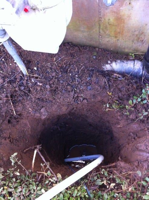 water main repair in Portland