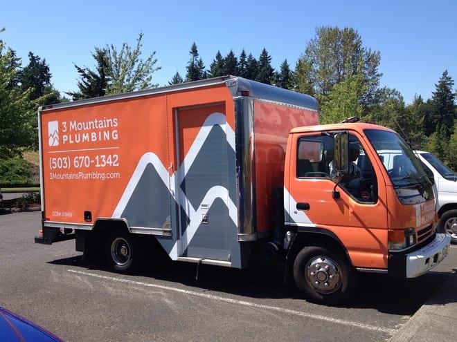 3MP truck in Portland