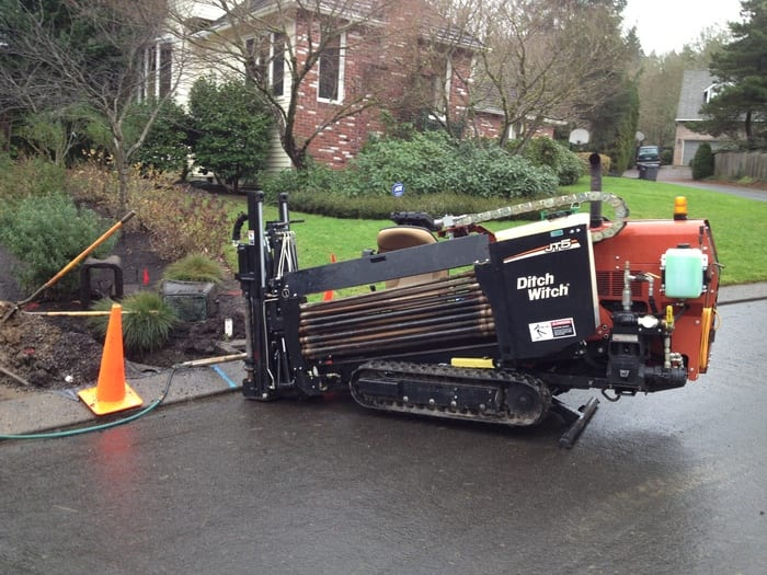 directional boring Service in Portland with 3 Mountains Plumbing